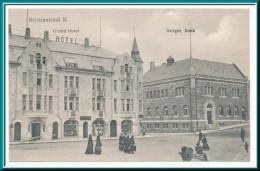 ★★ KRISTIANSUND N. NORGES BANK ★★ NORWEGIAN BANK & The GRAND HOTEL ★★ - Noruega