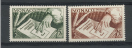 MONACO:- EDIT. PRINCEPS- N° Yvert  392/393 ** - Monaco