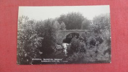 RPPC  Charles City Sherman Nursey Bridge  ref 1958