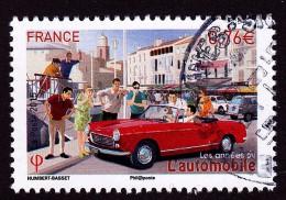"""""""l'automobile"""" Issu Du Bloc """"les Années 60"""" Oblitéré Cachet Rond TTB - France"""