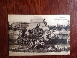 Bordeaux Le Monument Des Girondins - Bordeaux