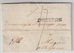 """Dänemark, 1802, Stempel """" DAENNEMARK """"  , #3401 - Danimarca"""