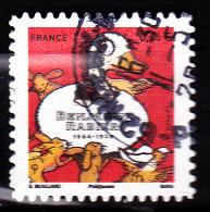 """BENJAMIN RABIER Autoadhésif Issu Du Carnet """"LES BEAUX TIMBRES S´EXPOSENT AU SALON"""" Cachet Rond - France"""