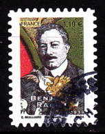 """BENJAMIN RABIER Autoadhésif Issu Du Carnet """"LES BEAUX TIMBRES S´EXPOSENT AU SALON"""" Cachet Rond - Frankreich"""