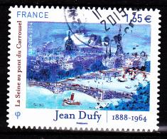 """JEAN DUFY Autoadhésif Issu Du Carnet """"LES BEAUX TIMBRES S´EXPOSENT AU SALON"""" Cachet Rond - France"""