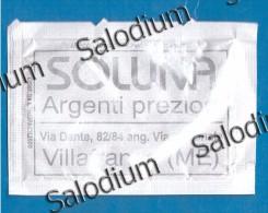 29348 VILLAFRANCA  - BUSTINA DI ZUCCHERO VUOTA - Sugar Empty - Sugars