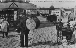 CPA Les Petits Métiers Parisiens L´Homme Orchestre - Petits Métiers à Paris