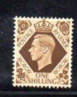 Y304 - GRAN BRETAGNA 1937 , Giorgio VI N. 222  ***  MNH - 1902-1951 (Re)