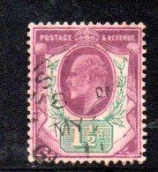 Y305 - GRAN BRETAGNA 1902 , Edoardo VII Giubileo N. 108 Usato - 1902-1951 (Re)
