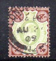 Y310 - GRAN BRETAGNA 1902 , Edoardo VII Giubileo N. 112 Usato . - Usati