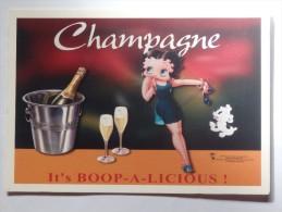 """CPM Champagne """"It's Boop-a-Licious !"""". - Publicité"""