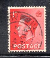 Y365 - GRAN BRETAGNA 1936 , Edoardo VII N. 206r Usata. Filigrana Capovolta - Usati