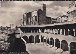 C P S M - C P M---ITALIE---SIENA---sanctuaire De S Cathérine---voir 2 Scans - Siena