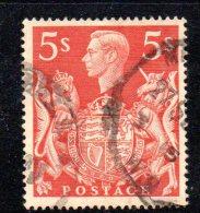 Y371 - GRAN BRETAGNA 1939 , Giorgio VI N. 225 Usata. - 1902-1951 (Re)