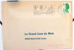 FRANCE Gastronomie. Flamme Commemorative BAILLEUL EN FLANDRE Gargantua Mardi Gras 9/9/86 - Alimentation