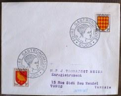 FRANCE Gastronomie. Flamme Commemorative DIJON FOIRE INTERNATIONALE Et GASTRONOMIQUE Dijon 1956 - Alimentation