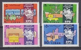 Liban / Lebanin 1974 UPU 4v ** Mnh (24907) - Libanon