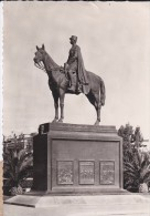 C P S M - C P M---MAROC---CASABLANCA---monument Maréchal Lyautey---voir 2 Scans - Casablanca