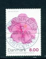 DENMARK  -  2012  Flowers  8kr  Used As Scan - Usati