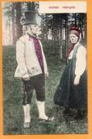 Hallingdal Types Norway 1905 Postcard - Norwegen