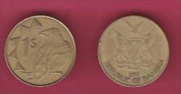 NAMIBIA, 1993, 1 Nam Dollar, VF, KM 4,  C2846 - Namibië