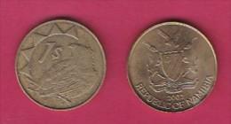 NAMIBIA, 2002,  1 Nam Dollar, VF, KM 4,  C2849 - Namibië