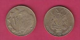 NAMIBIA, 2006,  1 Nam Dollar, VF, KM 4,  C2850 - Namibië