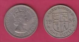 MAURITIUS, 1956,  50 Cents, XF, KM 35.1,  C2851 - Mauritius