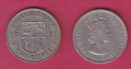 MAURITIUS, 1971,  50 Cents, XF, KM 35.1,  C2852 - Mauritius