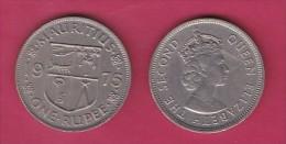 MAURITIUS, 1975,  50 Cents, XF, KM 35.1,  C2853 - Mauritius