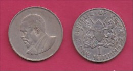 KENYA, 1966,  1 Shilling, VF, KM 5,  C2859 - Kenia