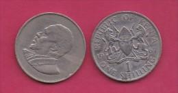 KENYA, 1967,  1 Shilling, VF, KM 5,  C2860 - Kenia