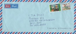 Zambia 2010 Chadiza Church Religion K2550 Bee-eater Overprint K1500 On K1800 Cover - Zambia (1965-...)