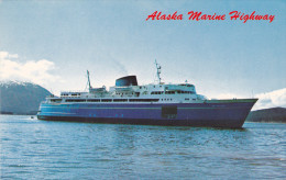 Alaska Marine Highway Fleet Ferry Ships , 50-60s - Non Classés