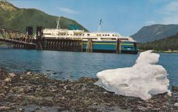 """Alaska Marine Highway Fleet Ferry Ship """"M.V. TAKU"""" , At Petersburg , Alaska , 50-60s - Sin Clasificación"""