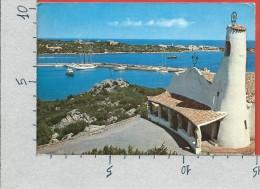 CARTOLINA VG ITALIA - ARZACHENA (OT) - PORTO CERVO - Veduta Parziale Chiesa Stella Maris E Porto - 10 X 15 - ANN. 1979 - Olbia