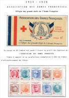 Lot Croix Rouge N 7 - Marcophilie (Lettres)