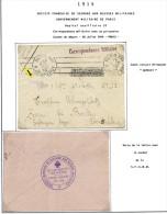 Lot Croix Rouge N 20 - Marcophilie (Lettres)