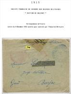 Lot Croix Rouge N 22 - Marcophilie (Lettres)
