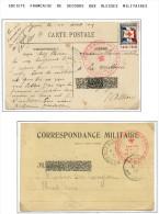 Lot Croix Rouge N 23 - Marcophilie (Lettres)