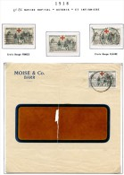 Lot Croix Rouge N 25 - Marcophilie (Lettres)