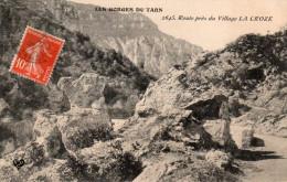 LA LOZERE    La Route Pres LA CROZE      Gorges Du Tarn - France