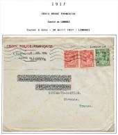Lot Croix Rouge N 33 - Marcophilie (Lettres)