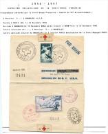 Lot Croix Rouge N 43 - Marcophilie (Lettres)