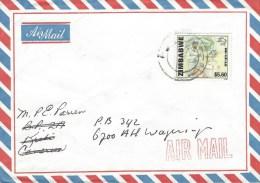 Zimbabwe 1999 Gweru UPU Postman Cover - Zimbabwe (1980-...)