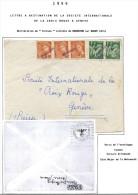 Lot Croix Rouge N 67 - Marcophilie (Lettres)