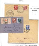 Lot Croix Rouge N 69 - Marcophilie (Lettres)