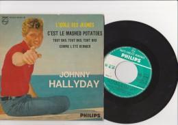 "VYNILE 45 T "" JOHNNY HALLYDAY -  L'IDOLE DES JEUNES -PHILIPS - Rock"