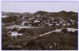 """CARTAGENE (Colombie) Belle Vue éclairée """"Pié De La Popa"""" Rare Carte Photo. - Colombia"""