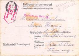 Stalag V C   WWII WW2 POW Prisoner Of War Censor Censorship Censuur Geprüft KRIEGSGEFANGENENPOST FREE SHIPPING - Allemagne